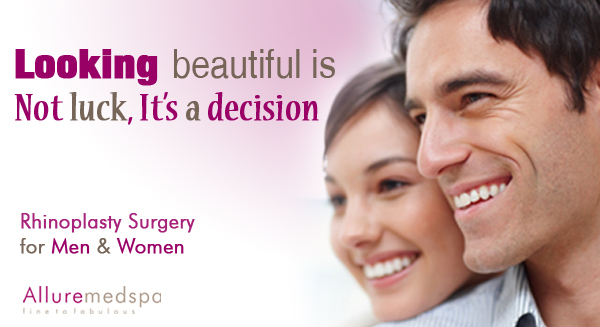 Rhinoplasty Surgery Benefits at Allure medspa, Mumbai, India