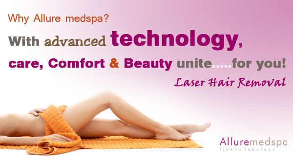 Laser Hair Reduction Service Pain Free Hair Free by Allure medspa