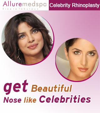 Celebrities Rhinoplasty Surgery in Mumbai, India