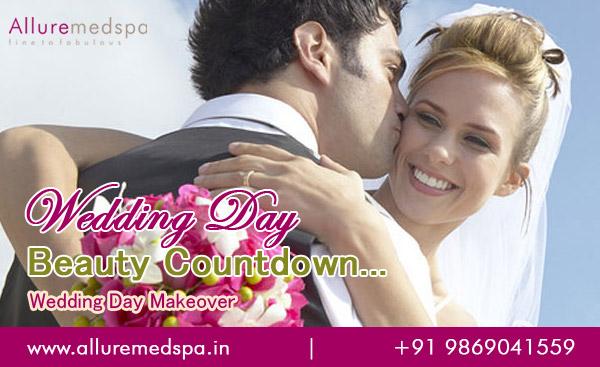 Wedding Day Makeover in Mumbai, India