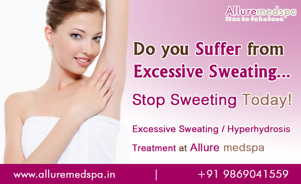 Excessive Sweating Treatment | Hyperhydrosis Treatment Andheri, Mumbai, India