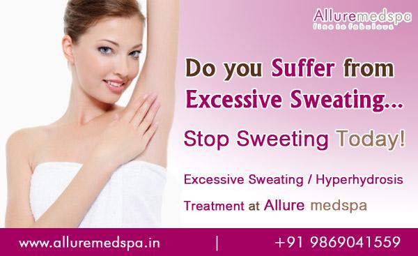 Excessive Sweating Treatment | Hyperhydrosis Treatment Andheri, Mumbai, India