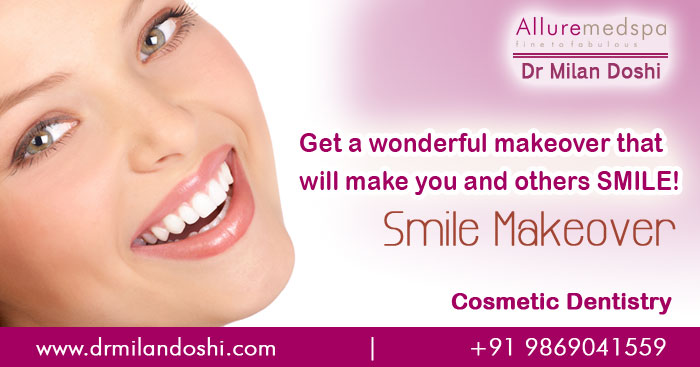 (Cosmetic Dentistry) Cosmetic Smile Makeover in Andheri, Mumbai, India