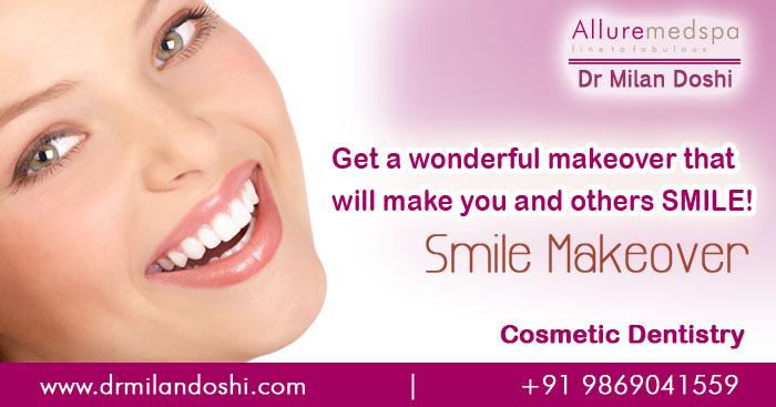 Cosmetic Smile Makeover in Andheri, Mumbai, India