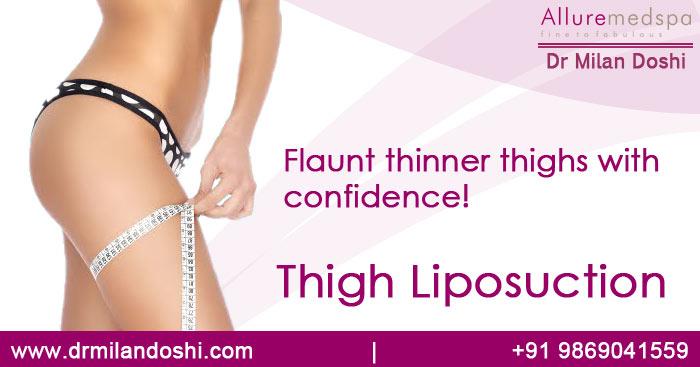 Thigh Liposuction surgery in mumbai, India