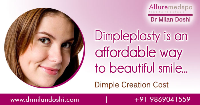 How much will dimple creation cost?