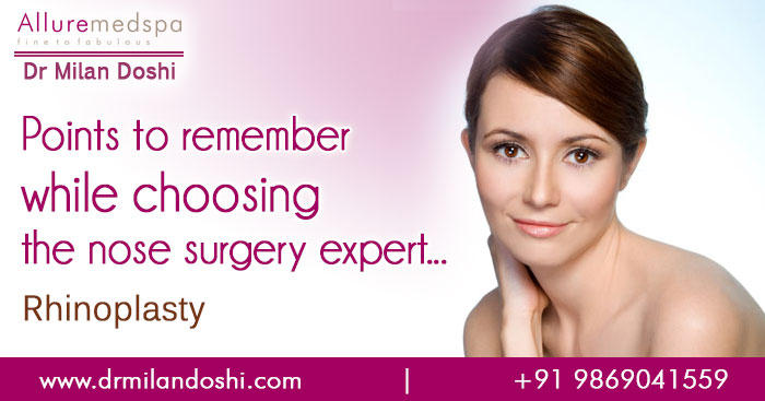 Choosing your Rhinoplasty surgeon