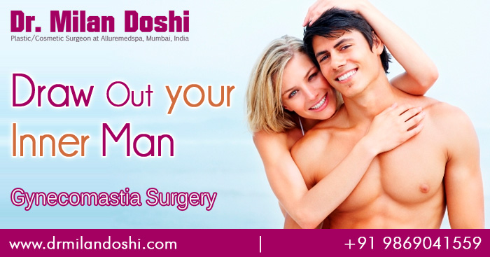 Gynecomastia (male breast reduction) Surgery Mumbai, India
