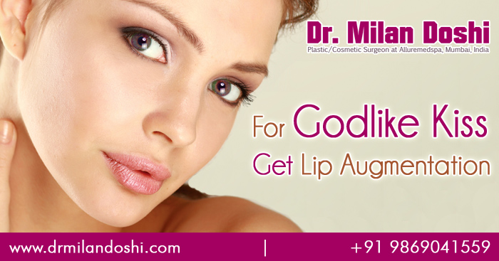 lip augmentation, lip implant, lip enlargement surgery in mumbai, india