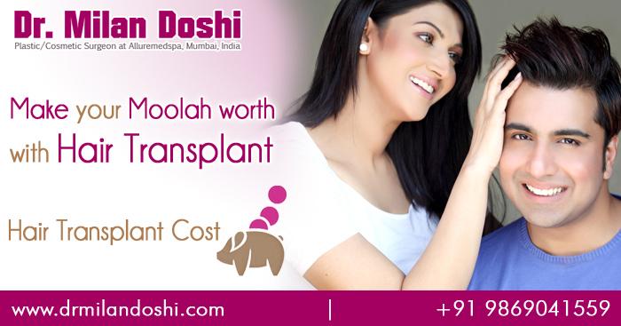 Hair Transplant Cost in Mumbai, India