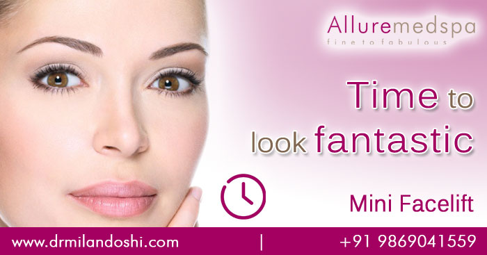 Get beautiful face with Mini Facelift procedure