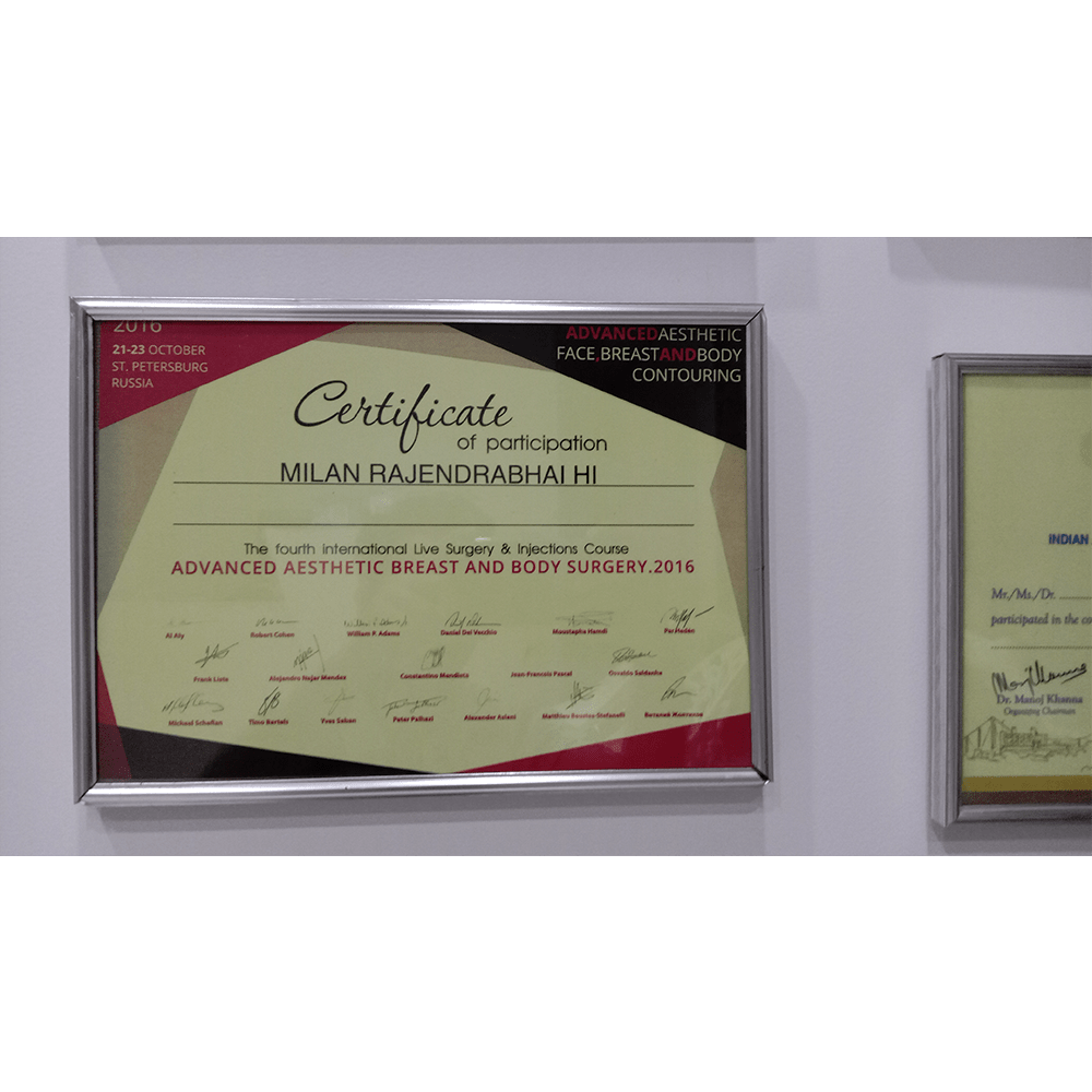 Certificate of Participation St Petersburg