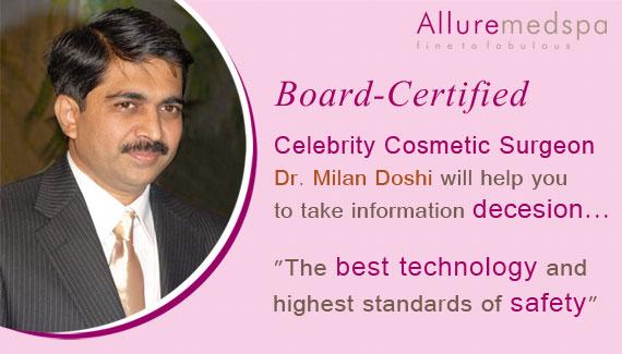 Celebrity Cosmetic Surgeon – Dr. Milan Doshi
