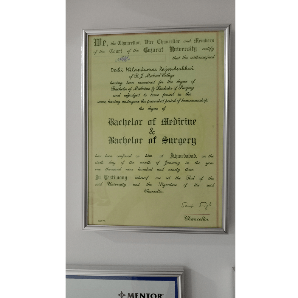MBBS Certificate