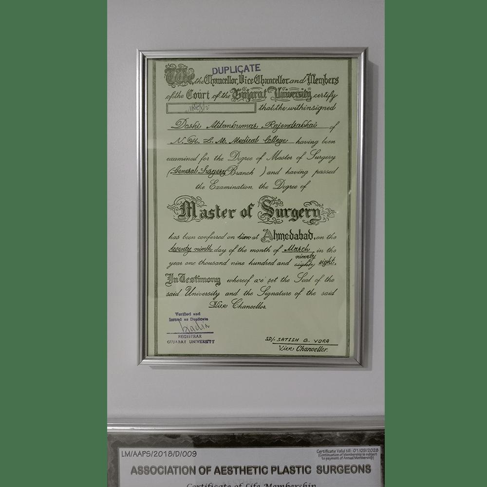 MS Certifcate