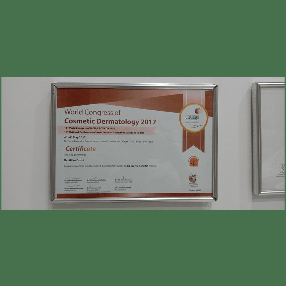 World Congress of Cosmetic Dermatology 2017