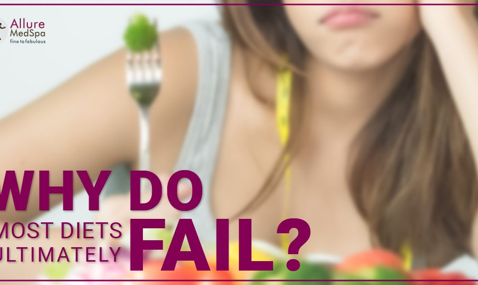 Why do most diets ultimately fail?